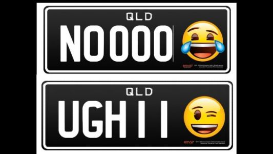 Emoji License Plates Are a Thing Now Because Everything Is Awful