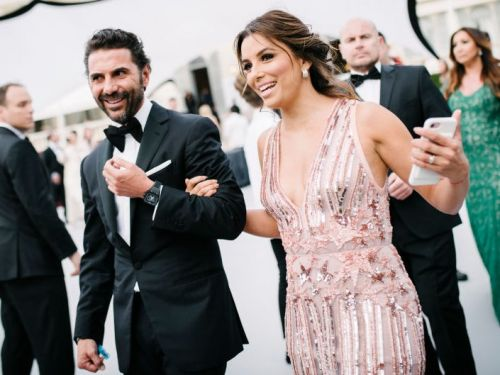 Eva Longoria welcomed her first child - a baby boy - with husband Jose Bastón