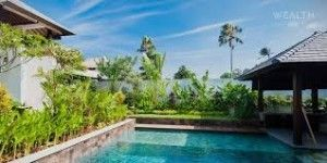 The luxury real estate of Bali takes advantage of tourism & growth in investment