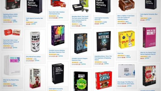 Amazon's Adult Party Game Black Friday Sale Actually Includes Cards Against Humanity
