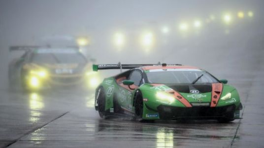 The GRT Grasser Lamborghini team has won the GTD class at the Daytona 24 for the last two years, and