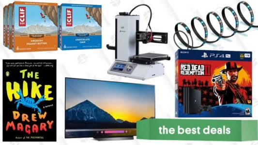 Tuesday's Best Deals: OLED TVs, Strip Lights, Red Dead, and More