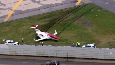 Confused HondaJet Mistakes Runway For Racetrack