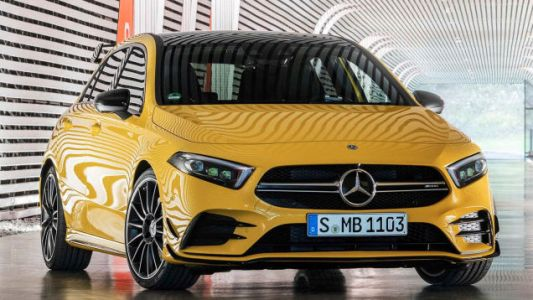 2019 Mercedes-AMG A35: This Is Apparently Benz's New 300 HP Hot Hatch