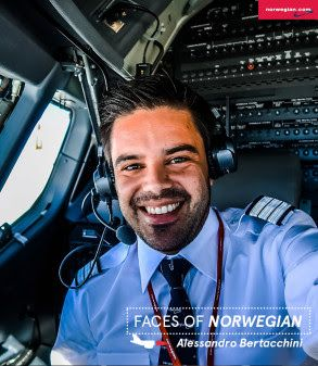Norwegian Faces of Norwegian: Alessandro Bertacchini