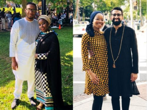 Black Muslims are sharing photos of their Eid outfits with the hashtag blackouteid