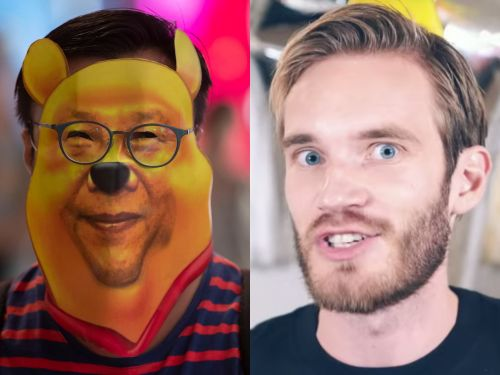 YouTuber PewDiePie says he's been 'banned' in China after comparing the country's president to Winnie the Pooh