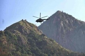 Indian Air Force rescued 100 stranded tourists from Maharashtra's Chinchoti waterfall