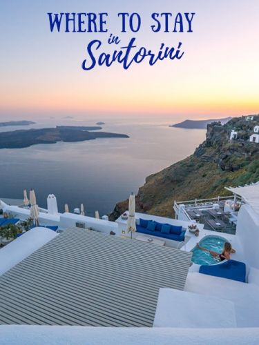 Where to Stay in Santorini: Oia or Imerovigli?