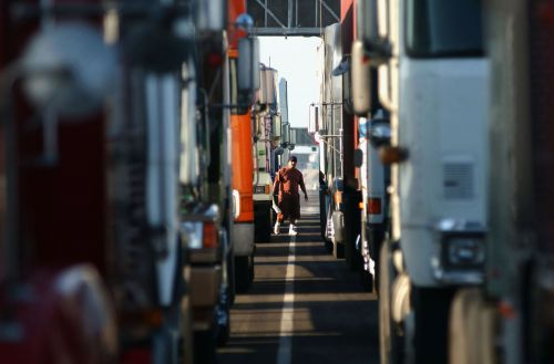 The trucking industry is in a capacity crisis - but it's just part of the business cycle