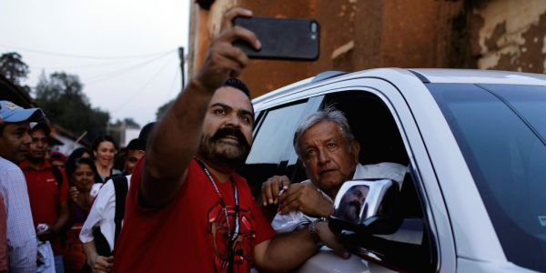 Mexico's new president says his security team will be made up of 20 unarmed men and women - including lawyers, doctors, and engineers