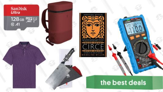 Sunday's Best Deals: Cooler Backpacks, SanDisk MicroSDs, New York Times Best-Sellers, and More