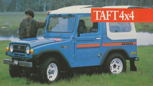 The Mystery Of The Daihatsu Taft's Name May Be Solved