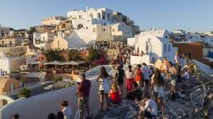 Santorini caught in a tourism trap