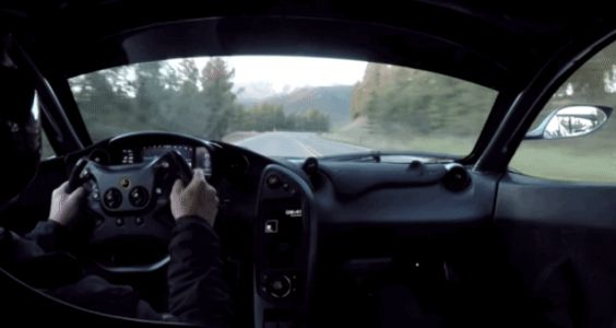 Here's a McLaren P1 LM Going Up Pikes Peak With No Commentary or Any Other Nonsense Just Sweet Sounds