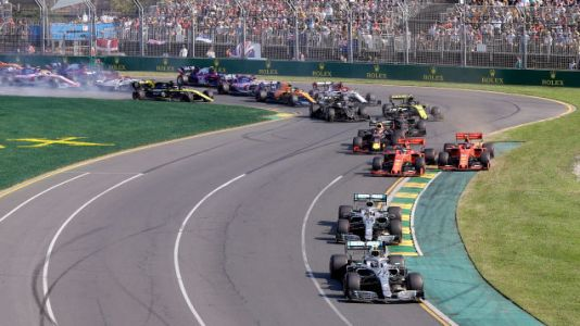 Formula One Season Opener In Australia Just More of the Same