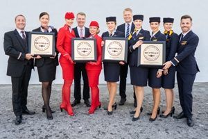 Lufthansa, SWISS and Austrian Airlines honoured with Skytrax World Airline Awards this year