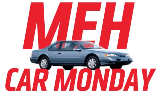 Meh Car Monday: The Tenth-Generation Ford Thunderbird Has Way More Bird Than Thunder