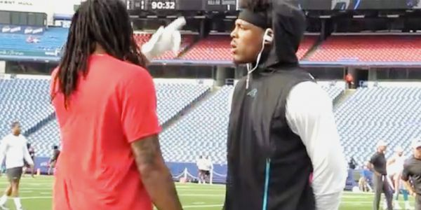 DeadspinCam Newton Seems Miffed That Kelvin Benjamin Said He Sucked | The A.V