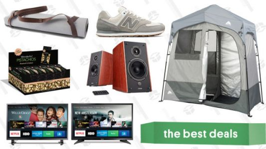 Thursday's Best Deals: FireTVs, New Balance Sneakers, Luxury Tent, and More