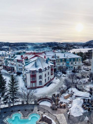 Highlights from a Winter Weekend in Tremblant during Elevation Gay Ski