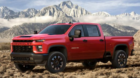 The 2020 Chevrolet Silverado HD Duramax Diesel Can Tow Up to 35,500 Pounds With 910 LB-FT of Torque