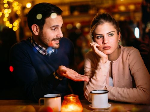 A matchmaker says the right sentence at the wrong time can put the kibosh on a budding romance