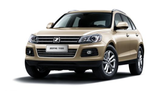 The T600 Crossover Will Be Chinese Automaker Zotye's First Car for America