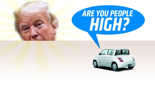 'Are You People High?': The Best Comments on Trump's Proposed 25 Percent Auto Tariff