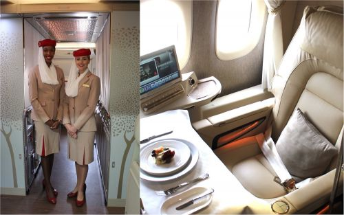 We tried out Emirates' new private first class suites - and they lived up to the hype