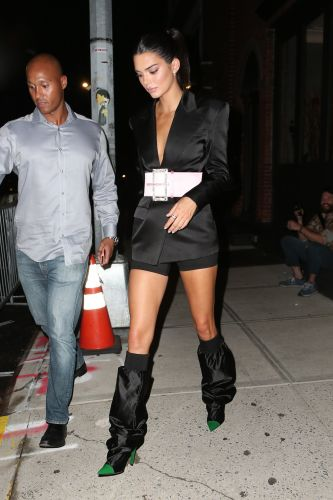 Kendall Jenner wore boots that look like they have sleeves on top - and it could be the start of a baffling new trend