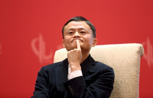 Alibaba slides after its chairman announces he'll step down in a year