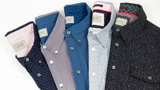 Look Professional While Staying Cool With Some Short Sleeve Button-Ups From JACHS NY, Starting at $14