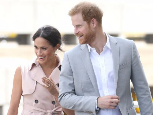 Meghan Markle wore an $824 trench coat dress - and it's proof that her royal style is becoming more business-casual