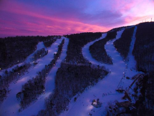 Winter Fun at Four Virginia Ski Resorts