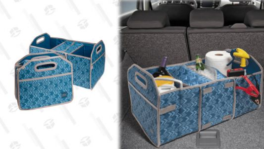 This Collapsible Trunk Organizer and Cooler Combo 2-Pack Is 67% off Today Only, So Grab One for You and Your Mom