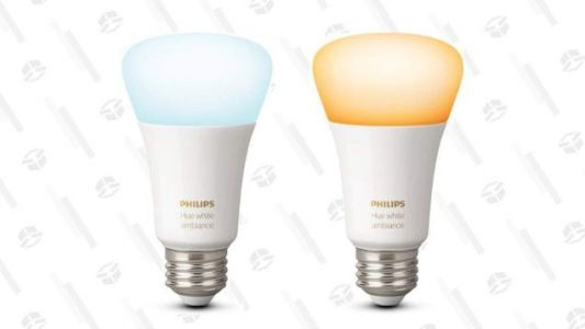 Skip the Colors and Save $5 On Philips Hue White Ambiance Smart Bulbs