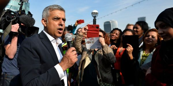 London Mayor Sadiq Khan is calling for a second referendum on Brexit