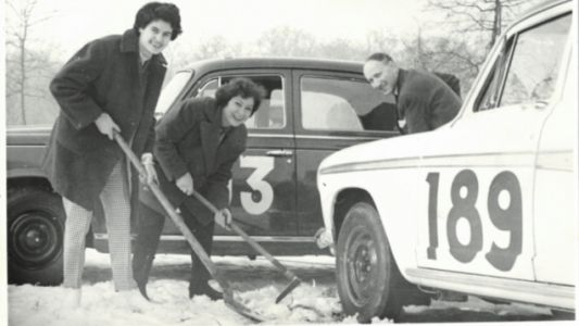 Louisette Texier Survived the Armenian Genocide to Become a Pioneering Rally Driver