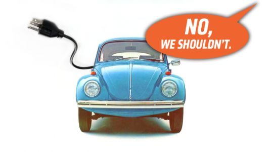 Volkswagen Says It Has No Plans for an Electric Beetle Which Means It Is Either Lying or Being Silly