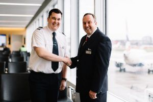 Retired Fireman's Carrer Takes Flight With Job At British Airways