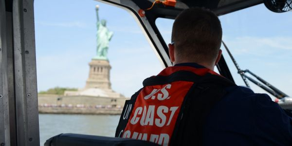 42,000 Coast Guard members will get their paycheck on Monday, but when the next arrives remains unclear