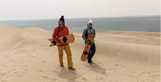 Qatar to offer snowboarding instead of only sand dunes
