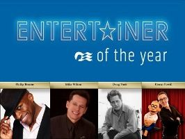 Princess Cruises will award Entertainer of the Year