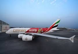 Emirates 'Scores a Try' with New Dubai Rugby Sevens A380 Livery Marking the Flagship Event's 50th anniversary
