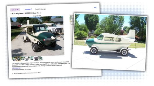 This Volkswagen-Based Land-Airplane Is an Adorable and Ridiculous Use of Your Money