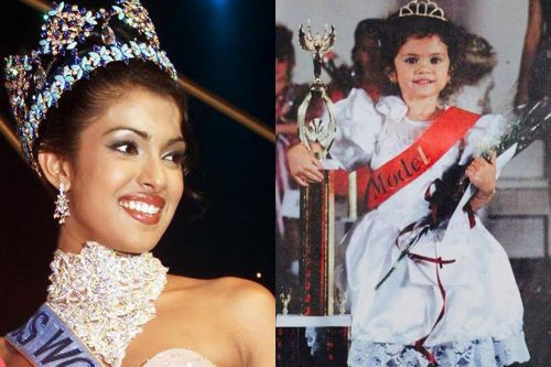 25 celebrities that you didn't realize competed in beauty pageants