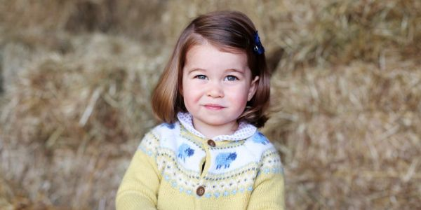 Princess Charlotte's new favorite present is a pink leather satchel - and it shows she could be getting into fashion already