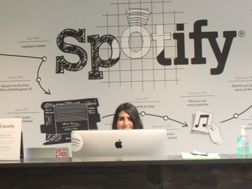 Employees at Spotify rarely work the same job for more than 2 years - and the CEO says that's on purpose