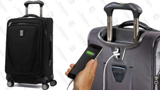 Travel Like A, Uh, Pro With a Deal On Travelpro's Iconic Crew 11 Spinner